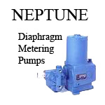 Neptune diaphragm metering pumps